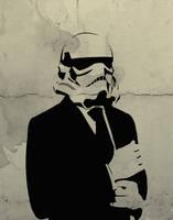 Stormtrooper Stencil by Yoshhhhi