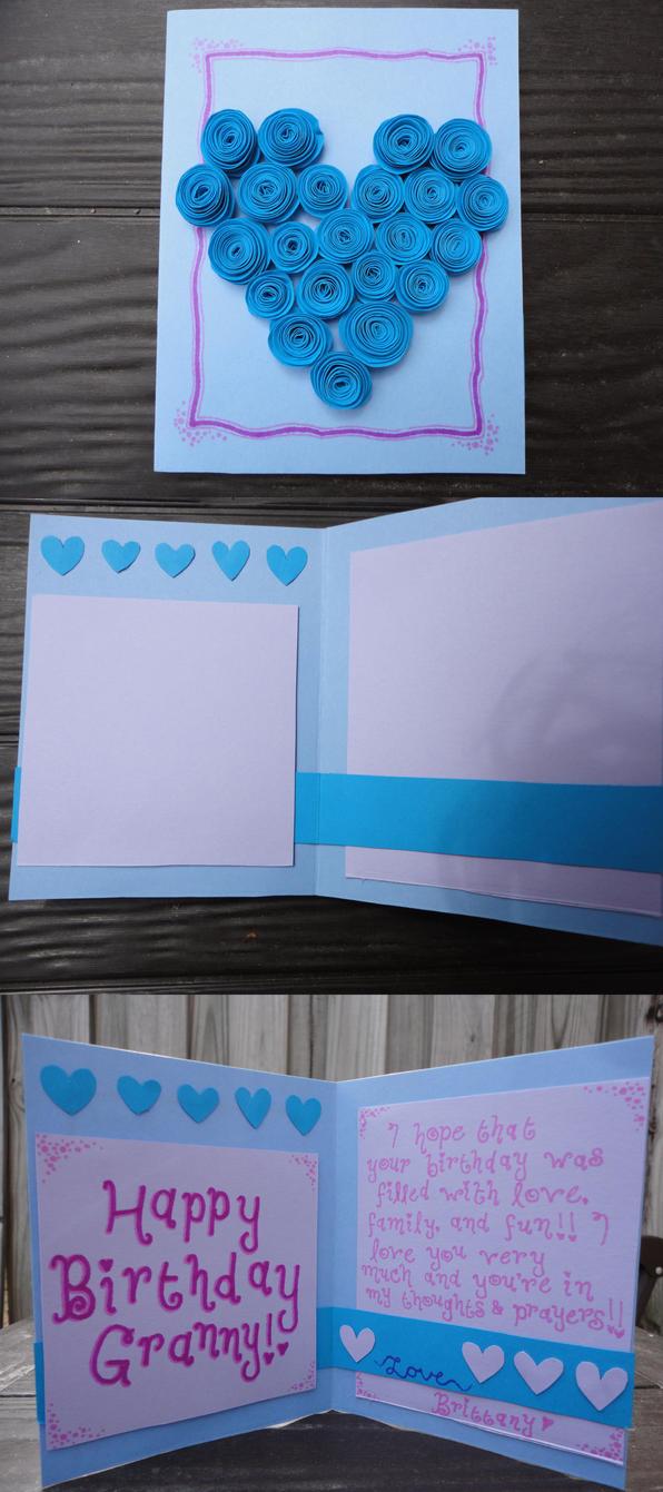 Granny's Birthday Card 2012 by uberrapidash