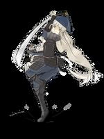 .: ArtTrade :.  Samurai Girl by Troublinator
