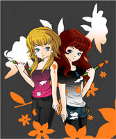 .: ArtCollab :. Da Friendship! by Troublinator