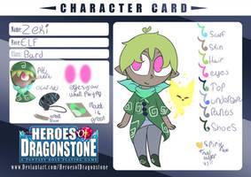 Zeki [Heroes of DragonStone] by InnocentBunny101