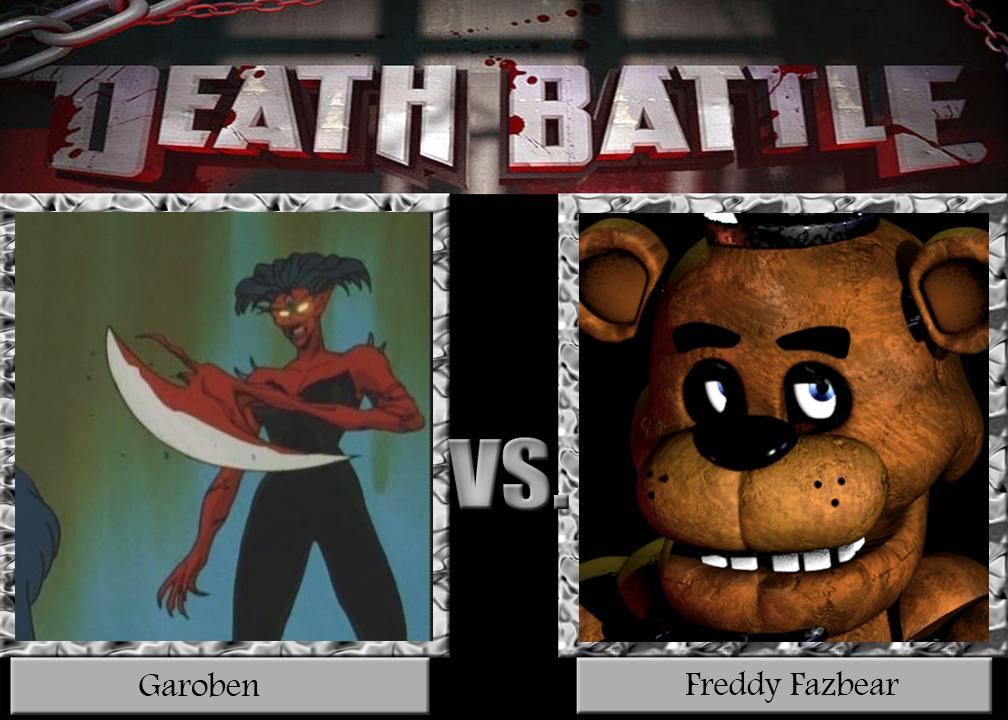 death_battle__garoben_vs_freddy_fazbear_by_mattddeviantart d8er5wm death battle garoben vs freddy fazbear by mattddeviantart on
