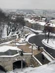 Snowy Budapest by glasschild