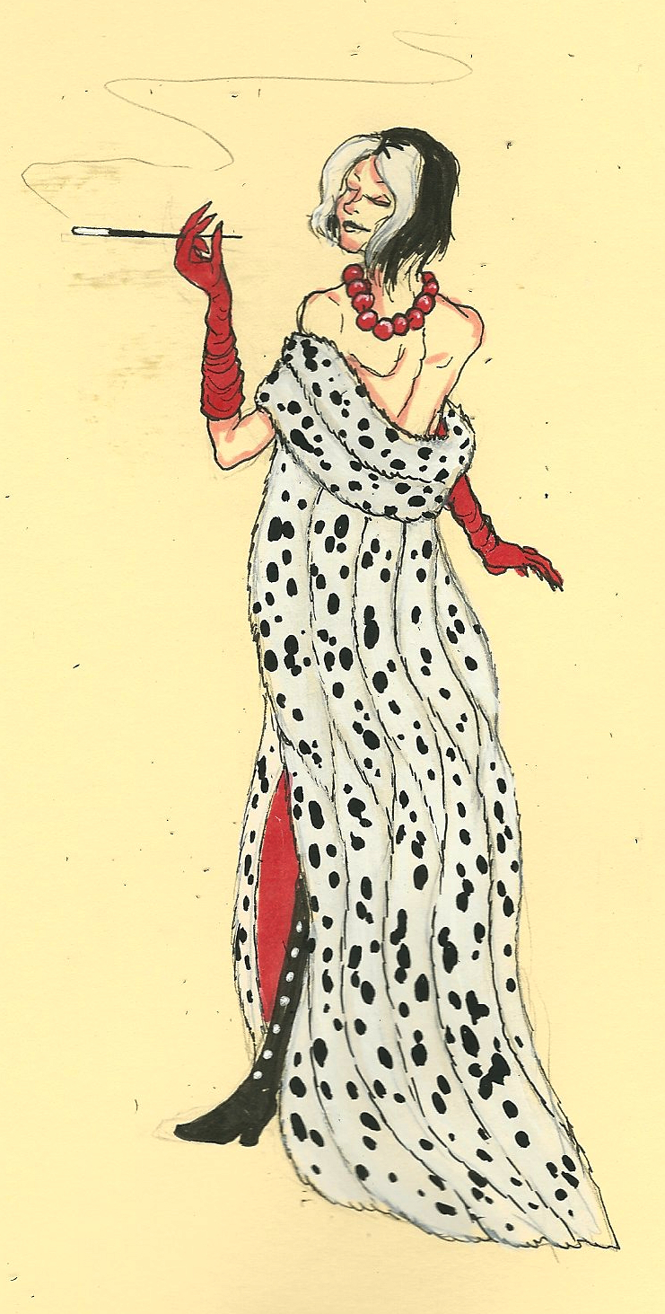Cruella de vil fashion 45