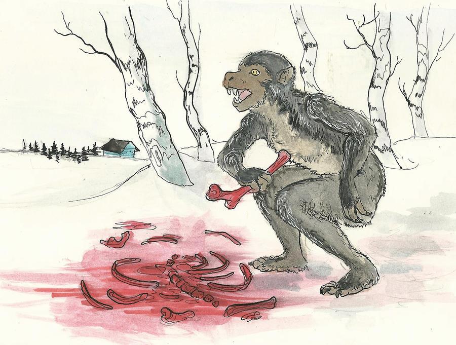 Werewolf noms by CindarellaPop