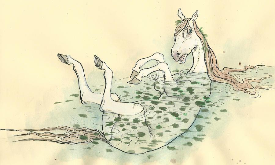 Water horse by CindarellaPop