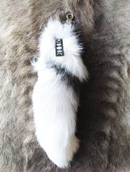Lunar phases marble fox tail by CindarellaPop