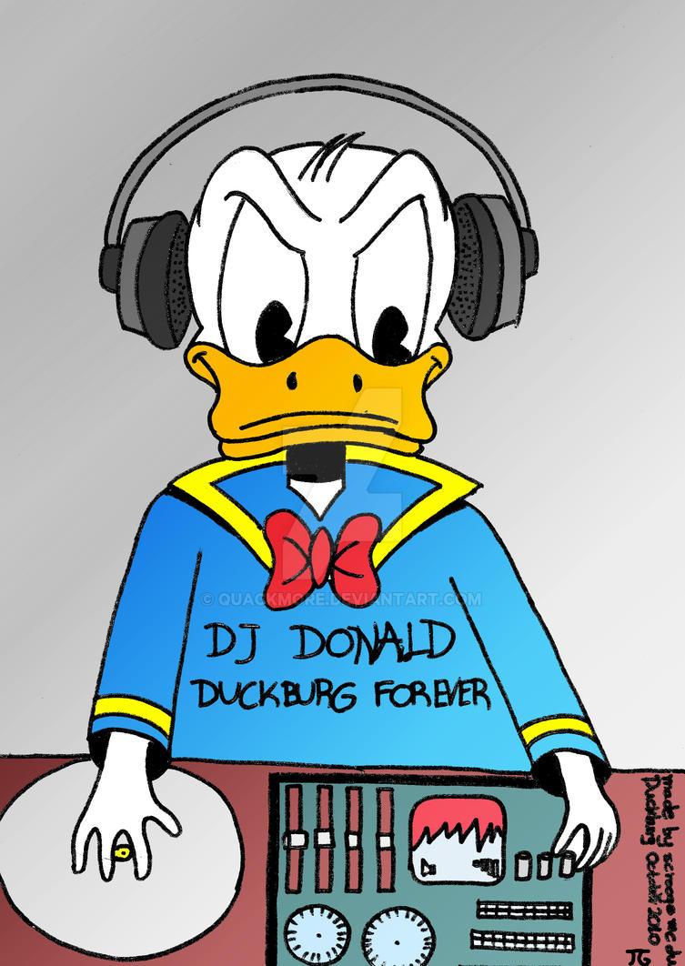 DJ DONALD by Quackmore