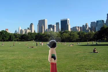 Astro Boy in Central Park