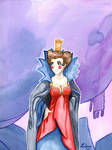 Citadel - the queen by Lissou-drawing