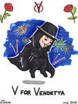 The Weekly Chibi #01 - V for Vendetta
