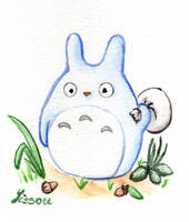 Chuu Totoro by Lissou-drawing