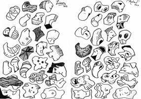 Draw in the Shapes