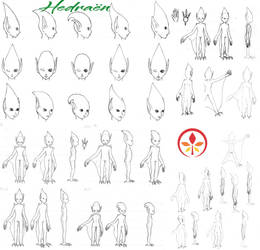 Hedraen s Different Bodies by Lissou-drawing