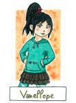 Six Fanarts Challenge - 1/6 - Vanellope by Lissou-drawing