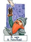 Six Fanarts Challenge - 2/6 - le nain by Lissou-drawing