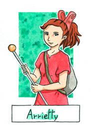 Six Fanarts Challenge - 3/6 - Arrietty