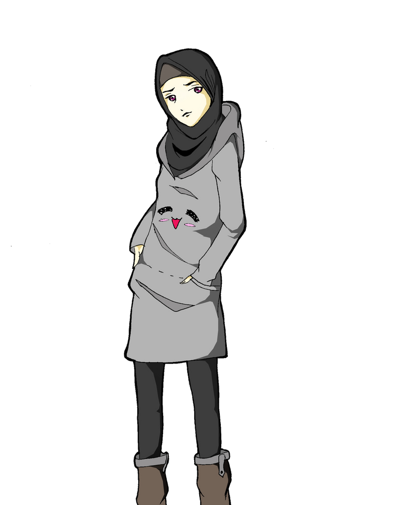 Me On Hijab By Hanabi90