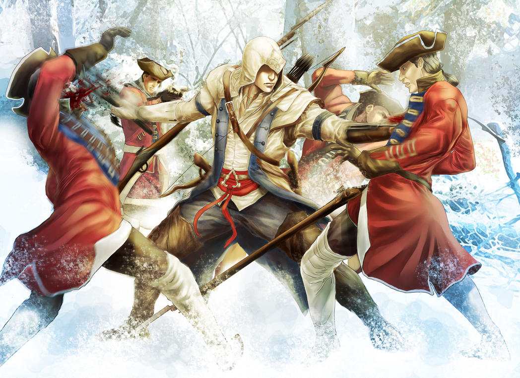 Assassin's Creed III by Murilo-Araujo