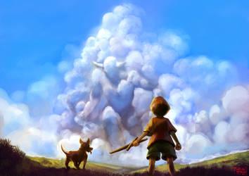 Colossus Cloud by Murilo-Araujo