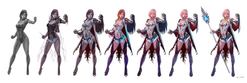 Concept for FF XIII lightning returns contest 2