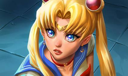 Sailor Moon Redraw by Murilo-Araujo