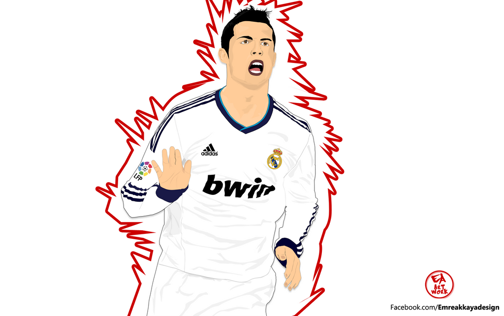 CRISTIANO RONALDO Cartoon Work By Emreadesign On DeviantArt