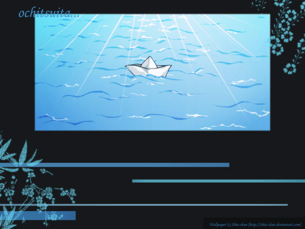Little boat ... floating away by Shia-chan