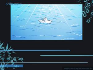 Little boat ... floating away