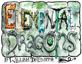 Elemental Dragons Comic Logo