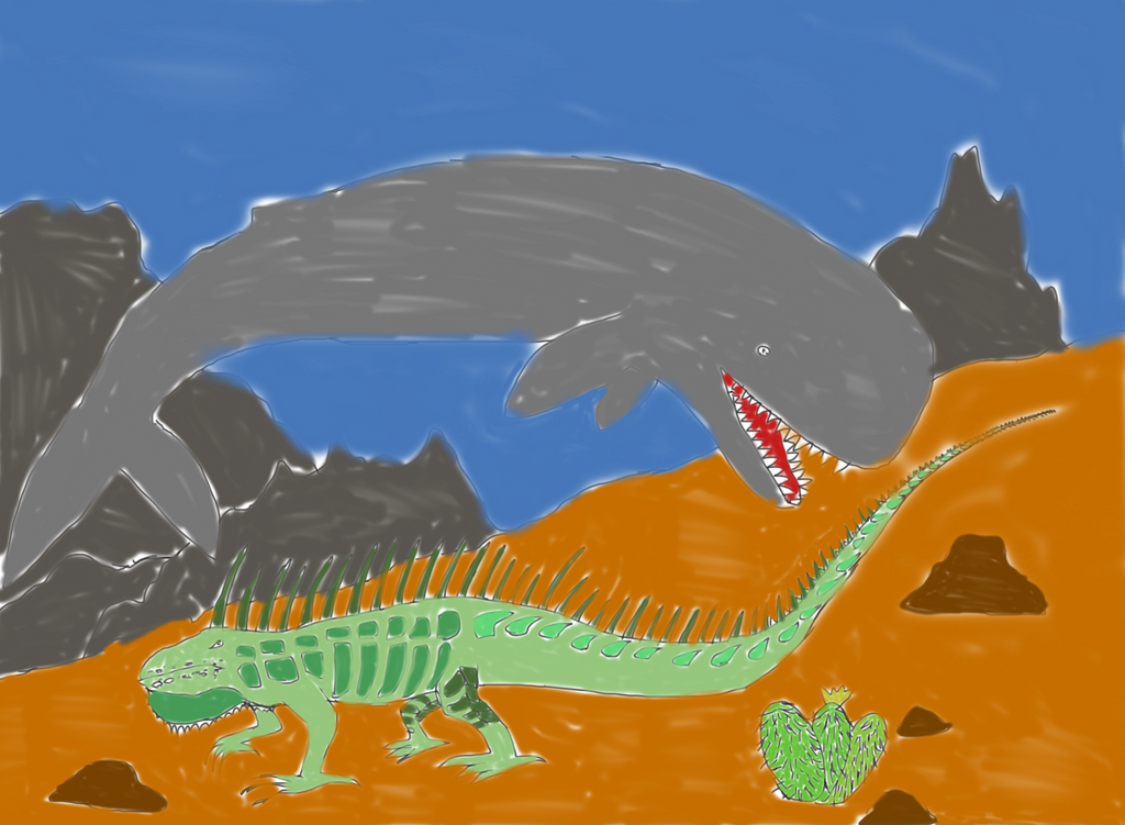 Behemoth and Leviathan by ElSqiubbonator