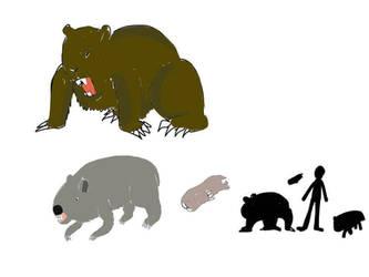Wombats of the Neozoic