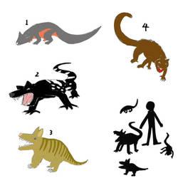Pouchhounds and Possumcats