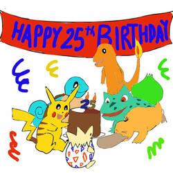 Happy 25th Birthday, Pokemon!