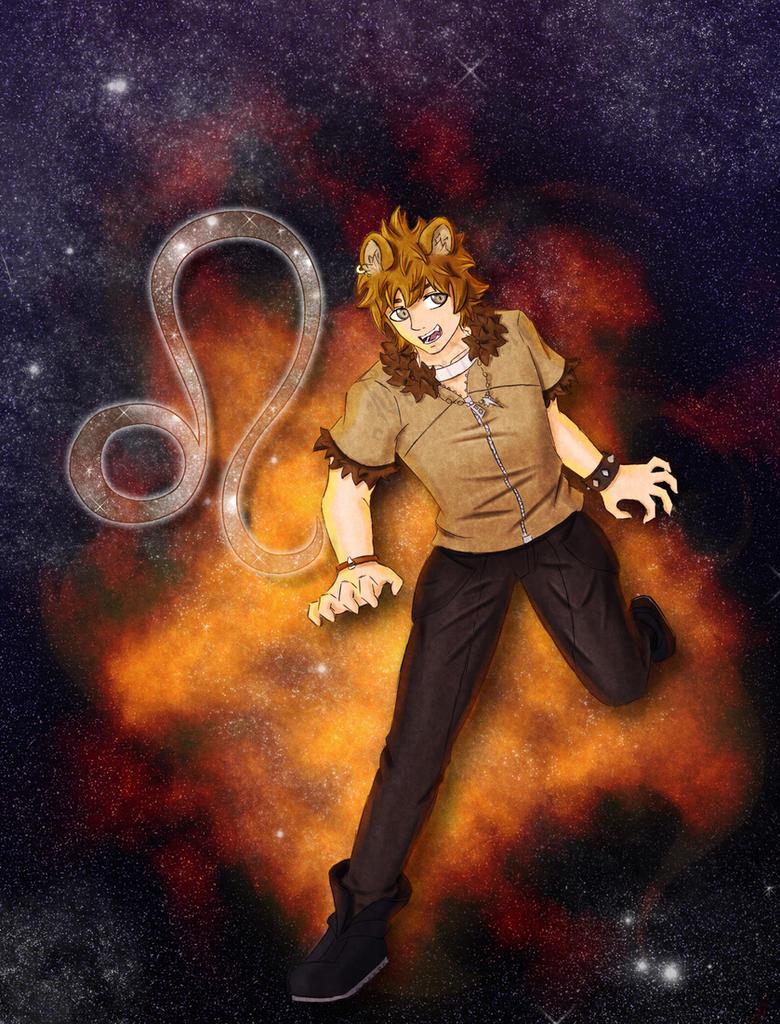 Zodiac Leo by namidame on DeviantArt