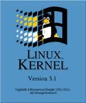 Linux Kernel 3.1 logo v2
