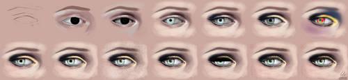 Eye step by step II