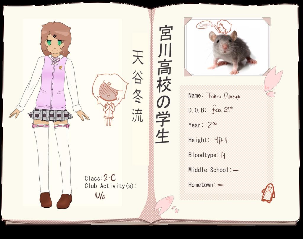 [MH] Mousey-chan by Tenioenai
