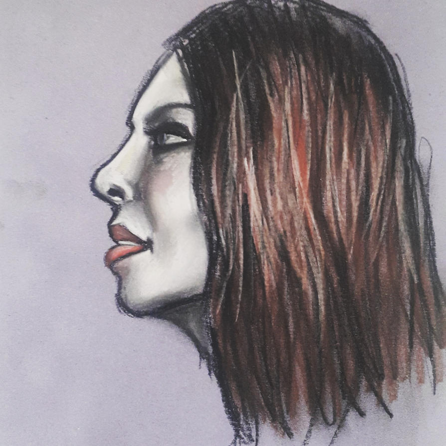 Self portrait by mariabogatyreva97rus