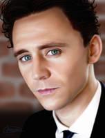 Tom Hiddleston by MarinaSchiffer
