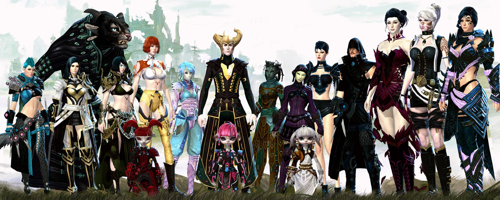 My Guild Wars 2 Family - Sept14