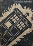 Tardis Linoprint
