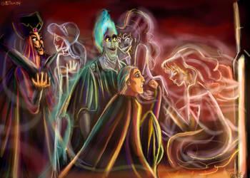 Hellfire for the villians by DreamyNatalie