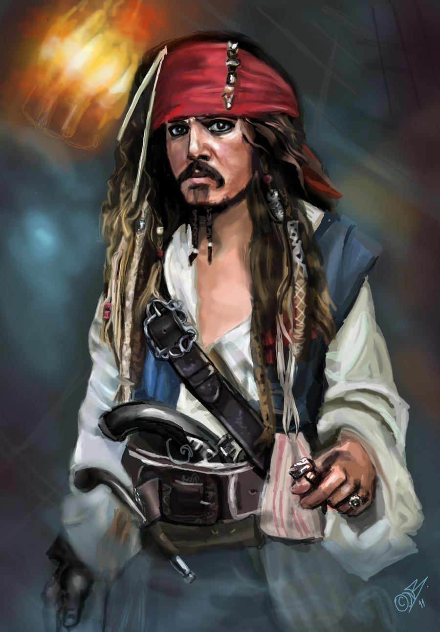 Jack Sparrow by DreamyArtistRoxy3