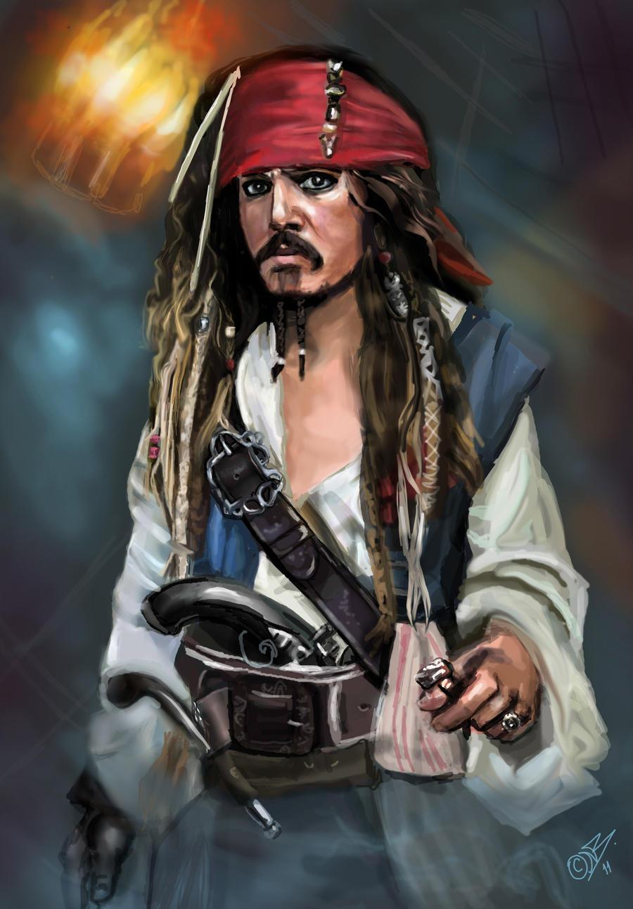 Jack Sparrow by DreamyArtistRoxy3