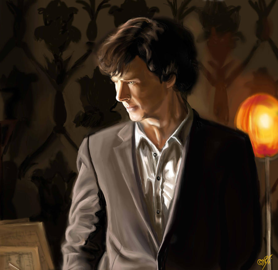 Sherlock Holmes - BBC by DreamyArtistRoxy3