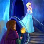 Anna and Elsa again - Frozen
