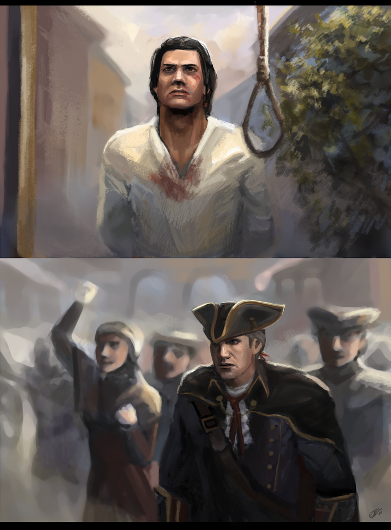 Connor And Haytham Fanfiction AC3 - Saving a son by ...