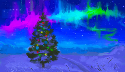 Christmas Landscape by DreamyNatalie