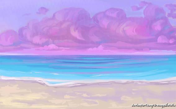 Dreamlike landscape
